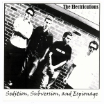 "The Electricutions ""Sedition, Subversion, and Espionage"" available on 7"" Vinyl EP."
