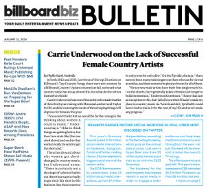 Billboard Bulletin